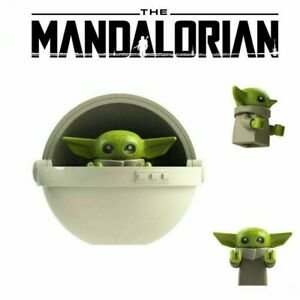 Baby-Yoda-Cot-Fits-Lego-The-Mandalorian-Mini-Figure-Star-Wars-Baby-Toy-UK