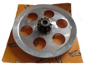 PLATEAU POULIE ALU 6 branches Aluminium 11 DENTS PEUGEOT 103 104 105 GT10 GL10