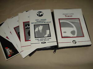 1997 ford escort and mercury tracer electrical troubleshooting manual.
