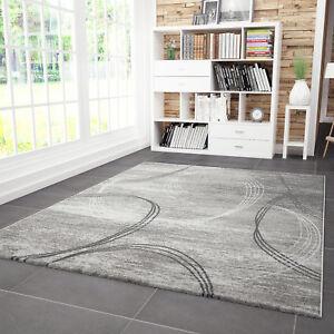 Tappeto di Design Soggiorno Moderno Linee Curve Motivo Erica in ...