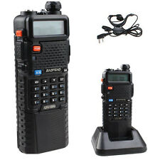 3800mAh BAOFENG UV-5R  Dual Band VHF/UHF Two Way Ham Radio Walkie Talkie