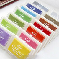 All-purpose Inkpad Rubber Stamps Crafts Ink Pad For Paper Wood Fabric Crafts DIY