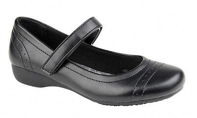 Niño Niña Negro REGRESO AL Zapatos de colegio Mary Jane de vestir casual fiesta