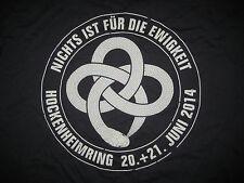 Hockenheim 2014 Event Comeback T-Shirt NEU XL Böhse Onkelz oi