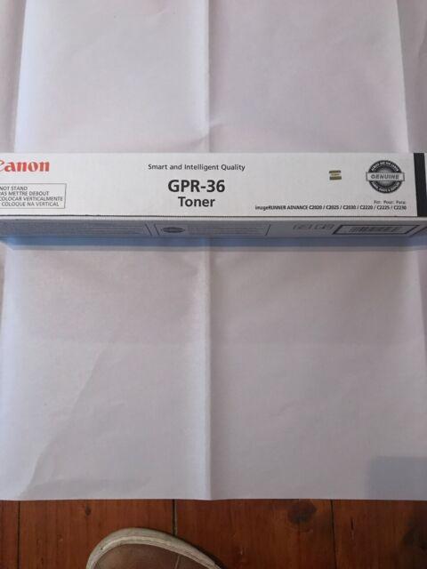 CANON GPR - 36 TONER CARTRIDGE BLACK - NEW - 3782B003