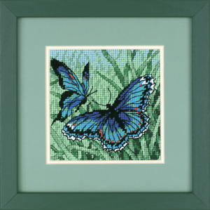 Dimensions -Mini D07183 Needlepoint Kit Butterfly Duo