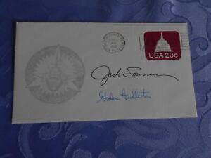 STS 3  Startbeleg original signiert Lousma,Fullerton