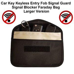 Genuine-Car-Key-Keyless-Entry-Fob-Signal-Blocker-Faraday-Bag-Larger-Version