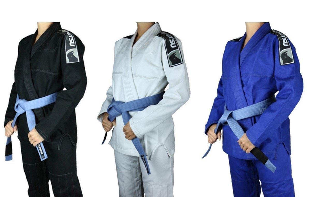 Ladies BJJ Gi Fumetsu Prime Womens JiuJitsu Uniform Grappling Kimono Free Belt