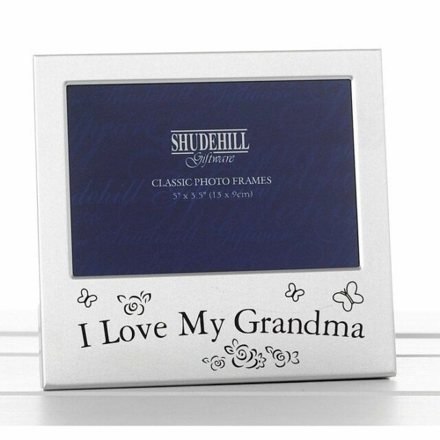 We Love Our Grandma Photo Frame Grandparent Gift Mothers Day
