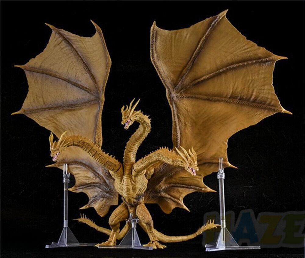 And Godzilla  rey de los monstruos 2 King Ghidorah Figura en caja original caliente