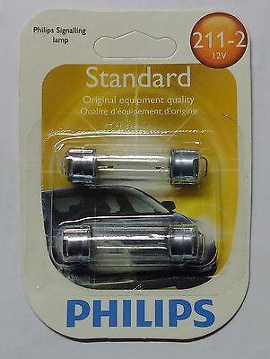 Sofitte Glühlampe USA 12V klar  TYP 211-2 / 2112 Philips  Dodge GMC Ford US
