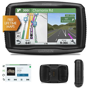 Details about Garmin Zumo 595LM Motorcycle GPS SatNav FREE UK Europe  Lifetime Maps Update NEW