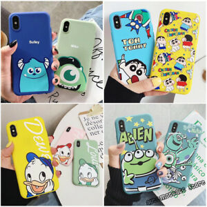 Disney-Cartoon-Alien-Sulley-Donald-Case-Cover-For-iPhone-5SE-6-7-8-11-PRO-XS-MAX