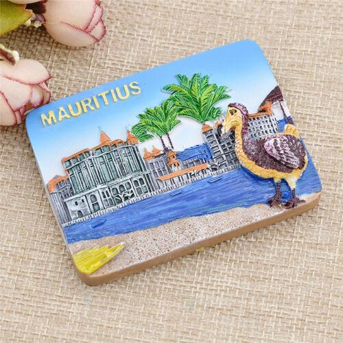 3D Creative Resin Mauritius Scenery Fridge Refrigerator Magnet Travel Souvenir