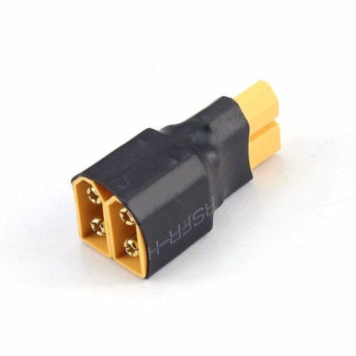 Kabel 1 Adapterstecker Lipo XT60 Konverter Verdrahtung Stück parallel