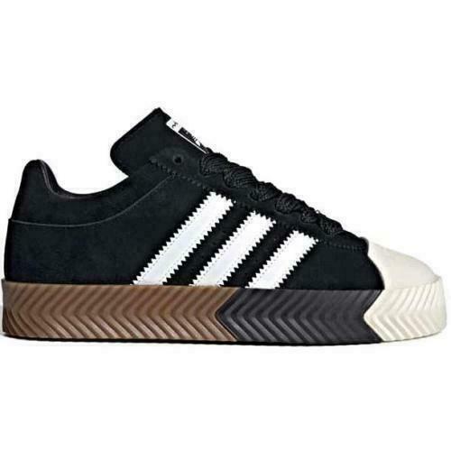 {G28385} Adidas Originals Alexander Wang Skate Super Black *NEW*