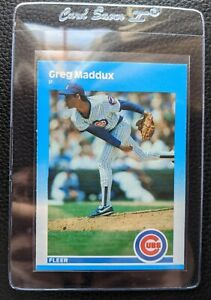 1987-FLEER-UPDATE-U-68-GREG-MADDUX-ROOKIE-CARD-RC-HOF-CUBS-BRAVES-SET-FRESH
