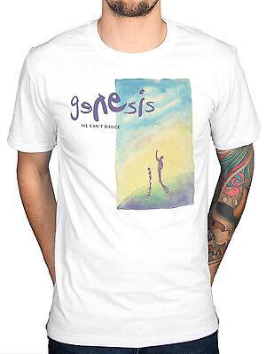 Ufficiale Genesis Non Possiamo Ballare Grafica T Shirt