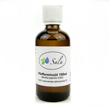 (10,90/100ml) Sala Pfefferminzöl Piperita Pfefferminz Öl 100 ml Glasflasche