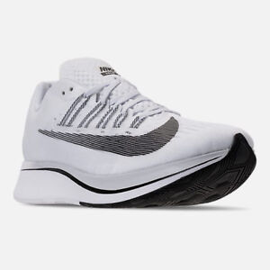 152acf075a07a Men s Nike Zoom Fly Running Shoes White   Black   Platinum Sz 10.5 ...