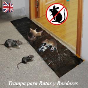 Control de Plagas Trampa Pegamento para Ratas Roedores Ratones Serpientes Bichos