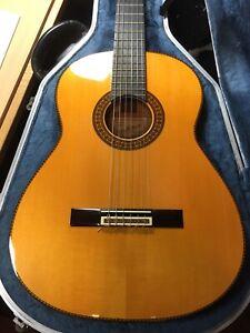 Pedro Maldonado Concert Flamenco F-1 Guitar