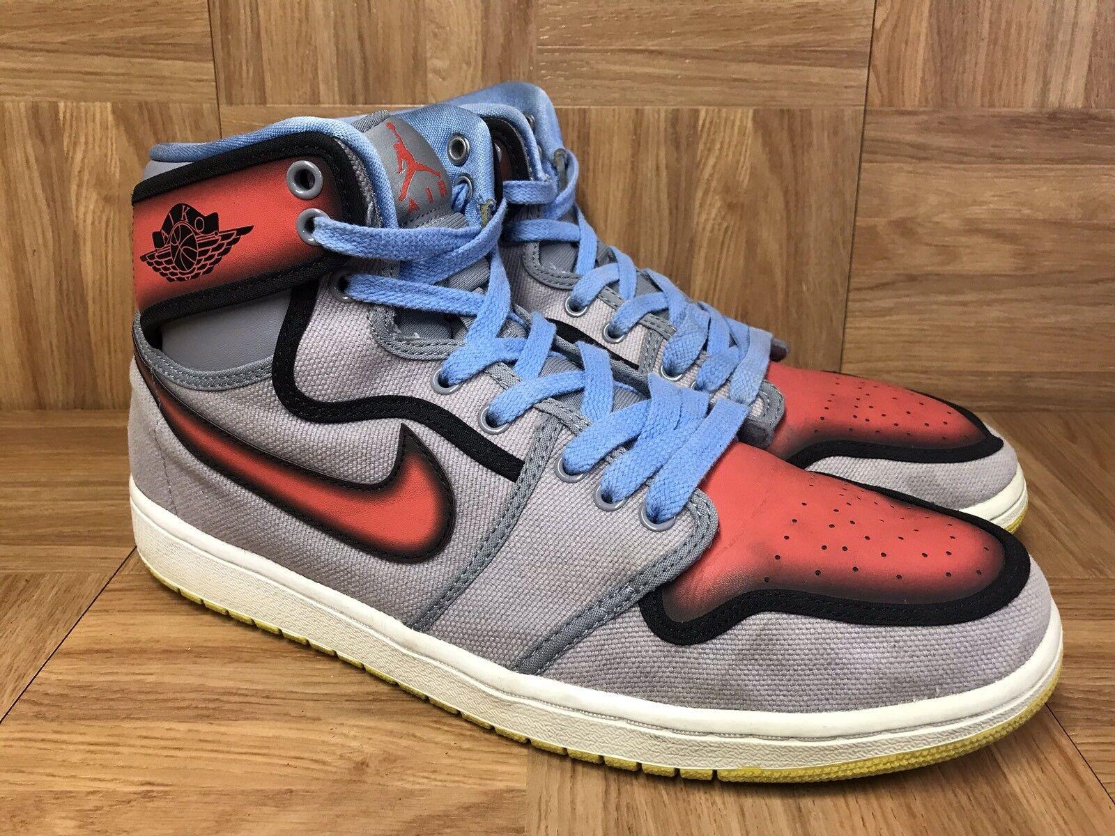 RARE  Nike Air Jordan 1 Retro AJKO RTTG Sunburst Blu Barcelona Sz 12 539541-035