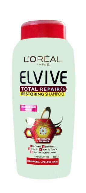 L'Oreal Elvive Total Repair 5 Restoring Shampoo 50ml