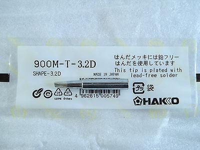 Soldering Tips HAKKO 900M-T-3.2D / 936,937,942 etc. soldering station #B19