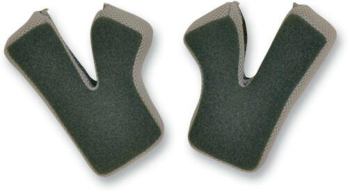 AFX FX-17 Replacement Cheek Pads Gray//Black