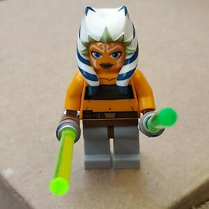 New Lego Star Wars Ahsoka Tano Jedi Padawan Figure   Etsy