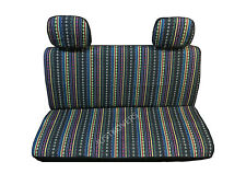 Brand New Universal Cabo Inca Saddle Mexican Blanket Truck Car Bench Seat Cover