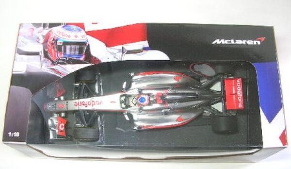 Mclaren mercedes nº 3 J. button British GP ShowCar 2012