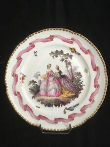 Rare Assiette Porcelaine allemande de WALLENDORF ( 1764-1780 ) aWzXjX8D-09114530-505869008