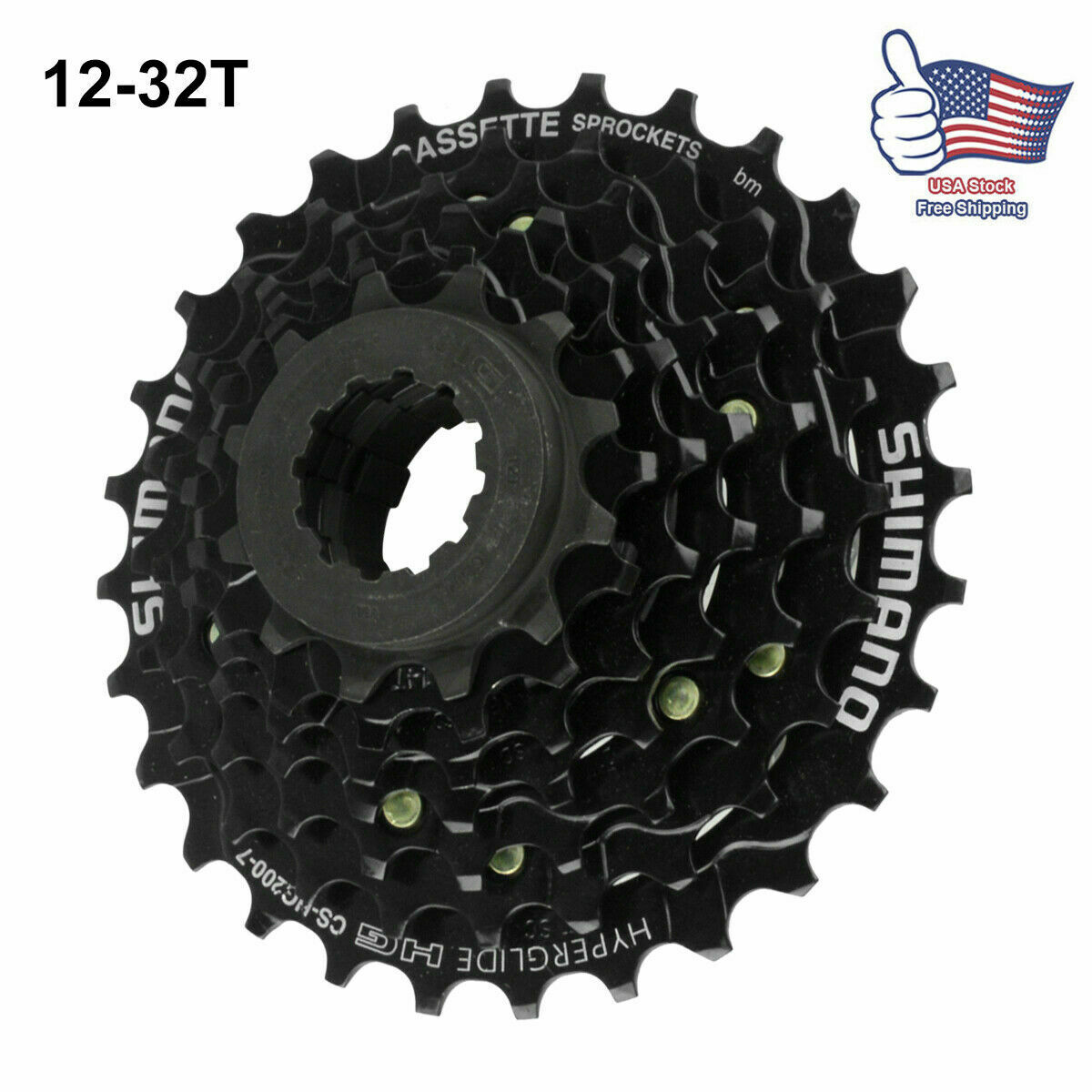 SRAM Bicycle Cycle Bike PG730 Cassette 12-32T 7 Speed 12-32T