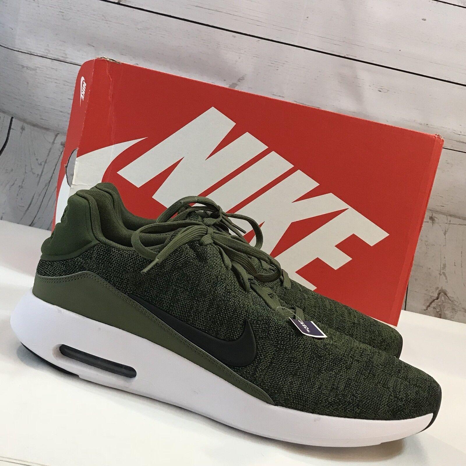 Nike air - green maxmodern flyknit scarpa da corsa, taglia 14 nwb Uomo