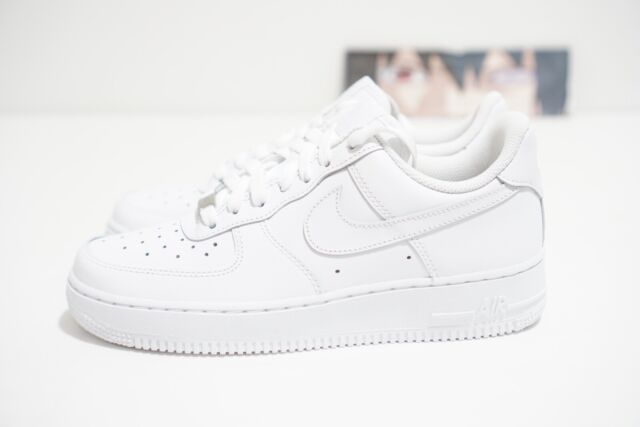 Details about Nike Air Force 1 Sage Low Premium White Grey Pink Orange Girls Women's Trainers