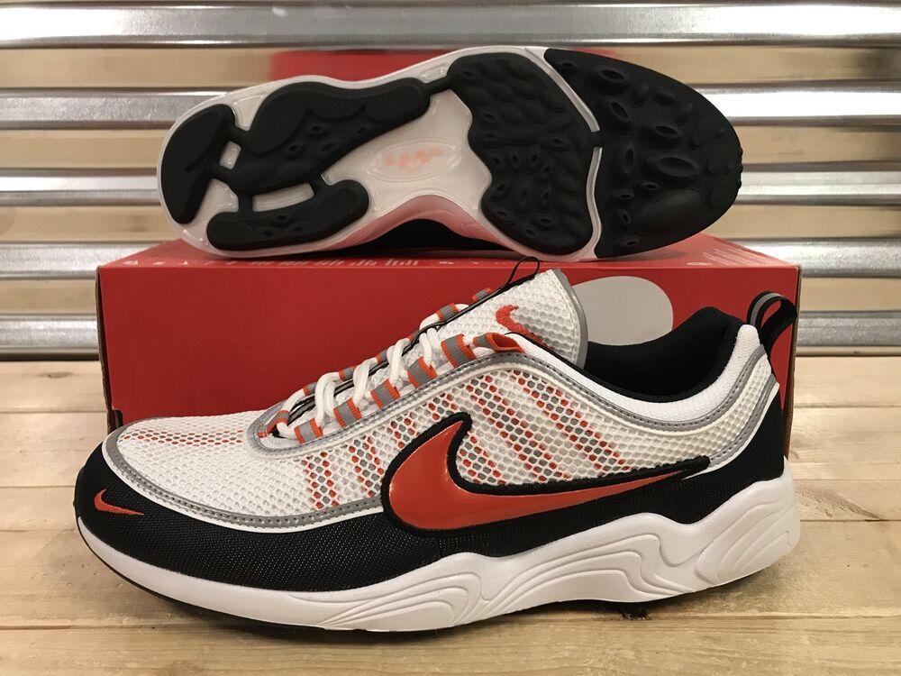 Nike Air Zoom Spiridon '16 Chaussures BLANC Noir Team de Orange Homme  Chaussures de Team sport pour hommes et femmes cb10ac