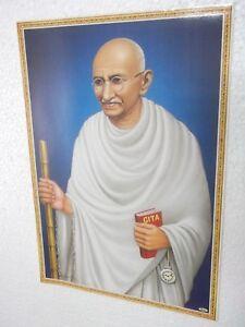 MAHATMA-GANDHI-Poster-unique-nice-INDIA-famous-personality-16-034-11-034