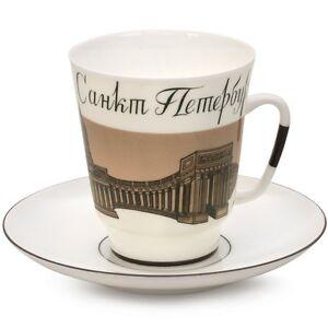 Imperial-Lomonosov-Porcelain-Tea-Coffee-Cup-Saucer-Farewell-Saint-Petersburg