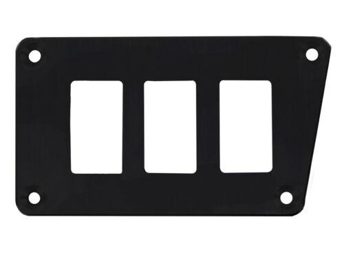PRP Black Lower Left 3 Switch Dash Plate Polaris RZR XP//XP4 1000