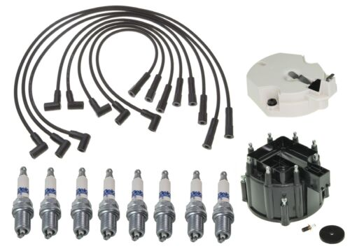 ACDelco Ignition Kit Distributor Rotor Cap Wire Spark Plugs For Regal Safari V8