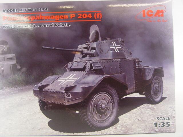 Panzerspähwagen P 204 (f) Deutschland - ICM Bausatz 1:35 - 35374 #E