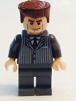 Brand Lego Minifig Spiderman Harry Osborn Dark Gray Suit