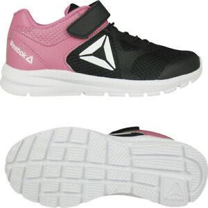 grand choix de 5abf9 66a93 Details about Reebok Kids Shoes Training Running Rush Runner Sports Girls  Gym Fashion DV8731
