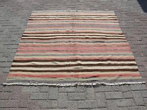 """rugs area Rugs,65"""" X 78"""",handwoven Rug,carpet Good Taste rug,kilim Rug Turkish Kilim Rug"""