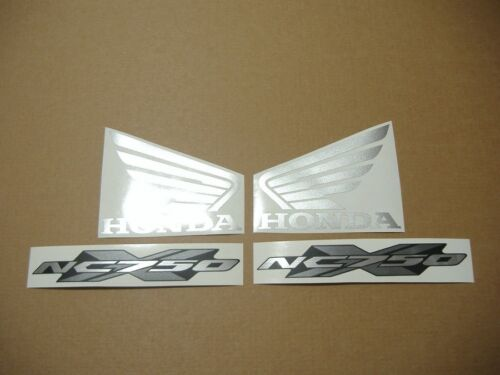NC750X logo decals stickers graphics set adhesives nc 750xa replacement replica