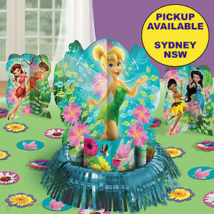 TINKERBELL PARTY SUPPLIES TABLE DECORATING CENTREPIECE ...