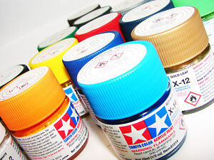Tamiya-Paint-listing-X1-X35-modelling-Acrylic-Paint-Plastic-Model-Paint-Touch-up